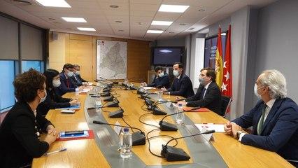 Primera reunión del Grupo COVID-19 y el equipo de Unidad Territorial