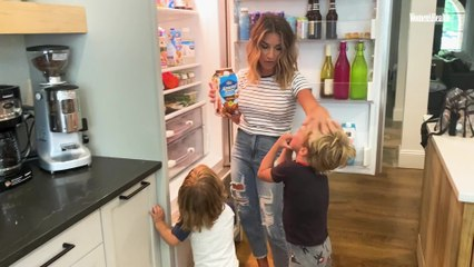 Jessie James Decker Shares Her Must-Have Coffee Creamer In The Latest Episode Of 'Fridge Tours'