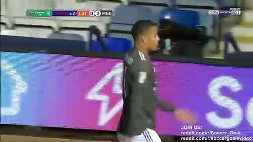 Mason Greenwood Goal HD - Luton 0 - 3 Manchester United - 22.09.2020 (Full Replay)