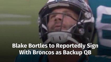 The Latest Blake Bortles Deal
