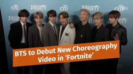 BTS Moves To 'Fortnite'