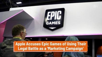 Apple Hits Back At Epic Games