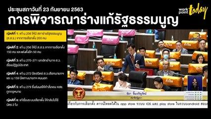 Live l ประชุมสภาผู้แทนราษฎร วันที่ 23 กันยายน 2563 (1)