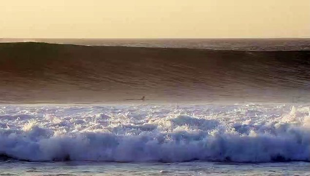 Nate Behl Drops Into a Desert Point Bomb