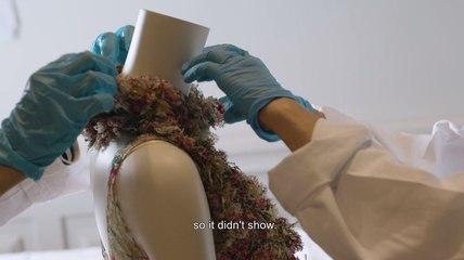 Coulisses : mannequinage de l'exposition Gabrielle Chanel   Palais Galliera