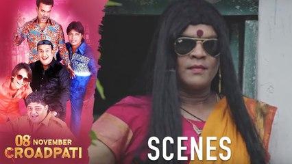 08 November Croadpati Movie Scenes | Gullu Dada & his gang Superb Comedy Scene | Silly Monks Deccan