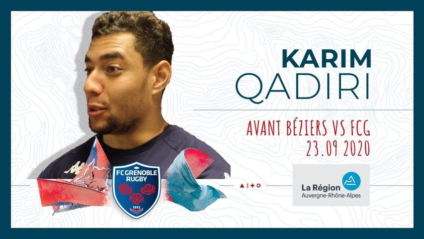 Video : Video - Karim Qadiri : « Il va falloir aller chercher des points »