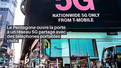Le Pentagone ouvre la porte à un réseau 5G partagé avec des téléphones portables civils_IN