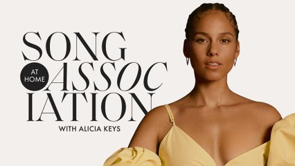 Alicia Keys Sings Whitney Houston, Prince, and Aretha Franklin in a Game of Song Association | ELLE