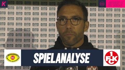 Die Spielanalyse | SG Meisenheim - 1. FC Kaiserslautern (4. Runde, Pokal) | Präsentiert von BITO-Lagertechnik