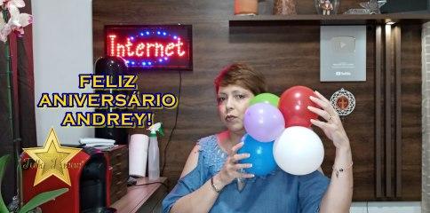 VÍDEO DE ANIVERSÁRIO PARA O ANDREY!