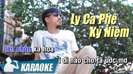 Ly Cà Phê Kỷ Niệm Karaoke Tone Nam - Quang Lập