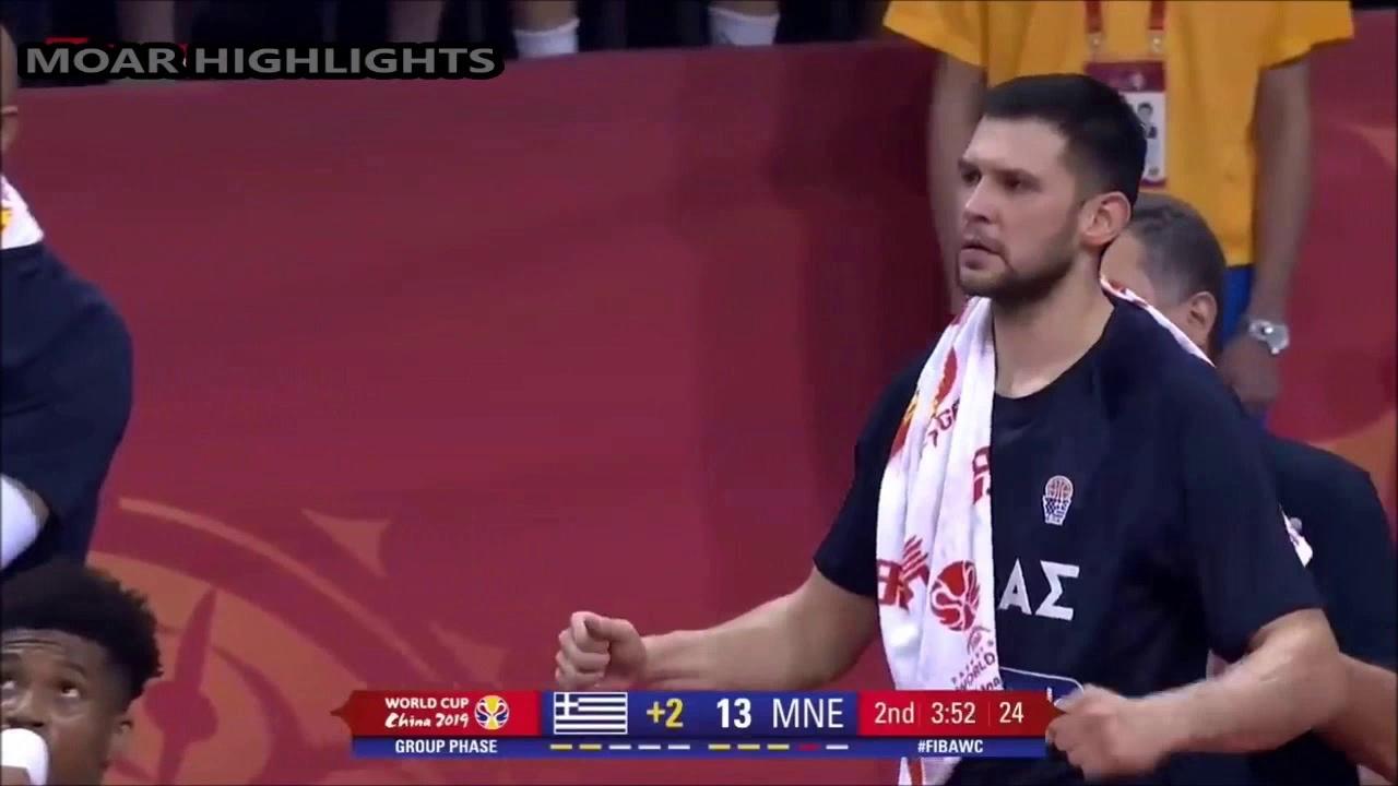 Greece vs Montenegro Full Game Highlights 1st September 2019 (1st Round FIBA World Cup 2019)