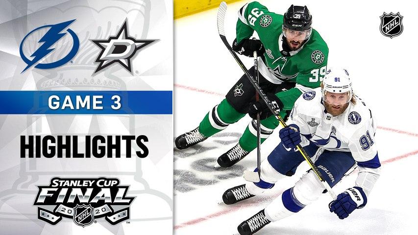 NHL Highlights | Lightning @ Stars 9/23/2020