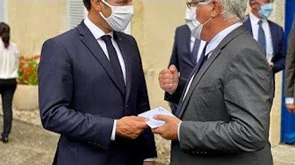 """Le projet """"Village alzheimer"""" a été présenté au président de la République lors de son déplacement à"""