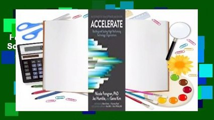 Full version  Accelerate: Building and Scaling High-Performing Technology Organizations  Review