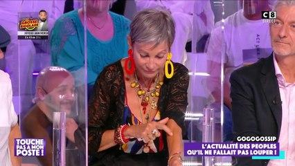 TPMP : Isabelle Morini-Bosc agressée par un fan, elle montre sa cicatrice
