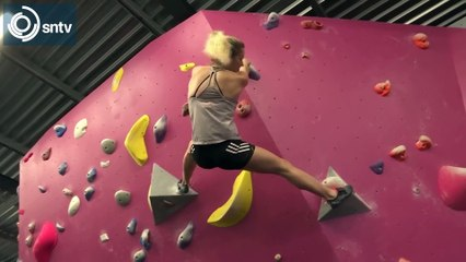 Rock climber Shauna Coxsey on physical and mental benefits of sport