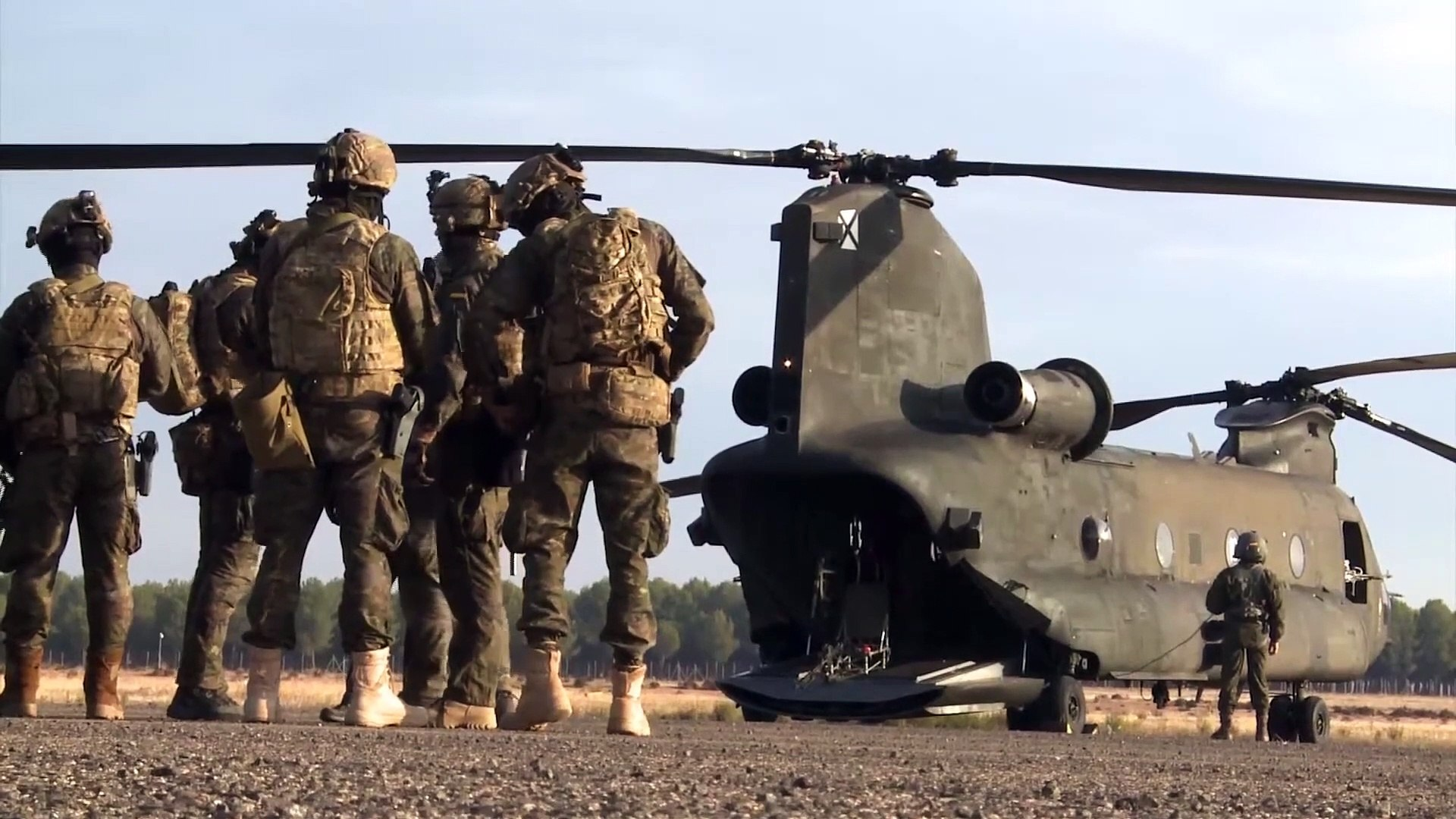 Special Forces • Fast Roping • Exercise Trident Juncture