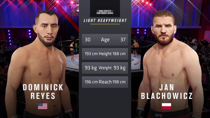 UFC 253: Reyes vs. Blachowicz – UFC Light Heavyweight Title Match  - CPU Prediction