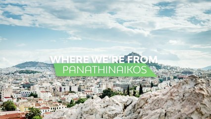 Where we're from: Panathinaikos OPAP Athens