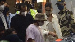 Deepika Padukone and Ranveer Singh Spotted at Airport after NCB Summon Deepika Landed Mumbai