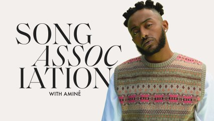 "AMINÉ Raps Jay-Z, Roddy Ricch, and ""Compensating"" in a Game of Song Association on ELLE"