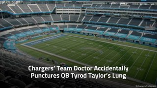 Chargers' Team Doctor Really Messed Up