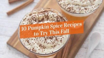 Fall Recipes At Home