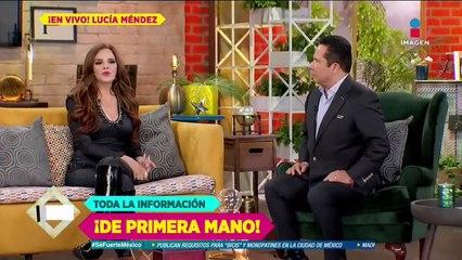¿La música salvó a Lucía Méndez de la depresión?