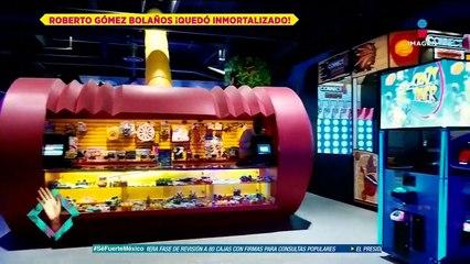 ¡La Vecindad de 'El Chavo' fue inmortalizada en un restaurante!