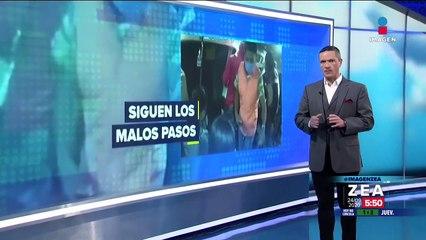 Seis jóvenes asaltan combi en Puebla