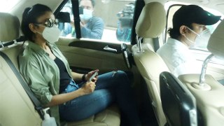 Rakul Preet Singh leaves from home for NCB office; Watch Video |FilmiBeat