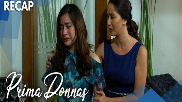 Prima Donnas: Donna Marie doubts her identity as a Claveria   Recap Episode 28