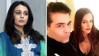 Suchitra Krishnamoorthi का खुलासा, Karan की parties attend कर होती है फिल्मों में वापसी | FilmiBeat