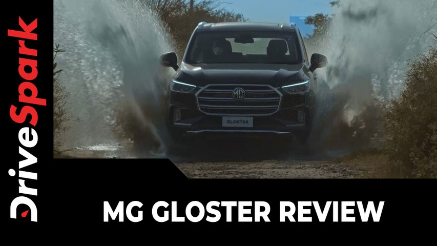 MG Gloster Review   First Drive   Specs, Performance, Handling, Features & All Other Details