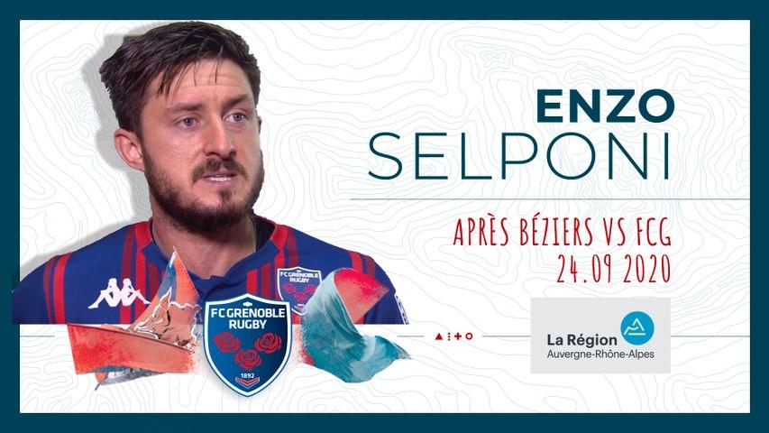 Video : Video - Enzo Selponi : « On n'est pas du tout dans les clous »