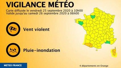 Pluies et inondations : l'ouest des Pyrénées placés en vigilance orange_IN