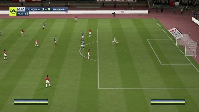 AS Monaco - RC Strasbourg : notre simulation FIFA 20 (L1 - 5e journée)