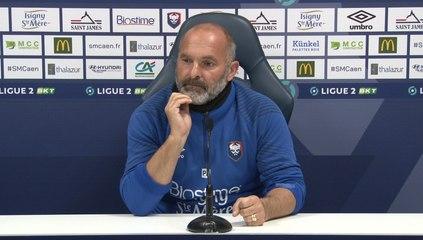 J5 Ligue 2 BKT : La conférence de presse avant Valenciennes FC / SMCaen