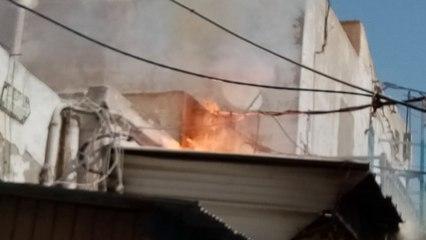 صفاقس: اندلاع حريق في سوق بوشويشة