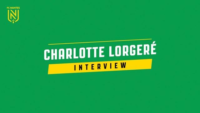 """Charlotte Lorgeré """"Je suis très heureuse de faire partie de cette équipe"""""""