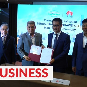 Serba Dinamik, Huawei Technologies partner up to develop digital industry