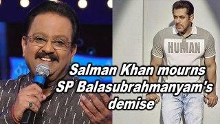 Salman Khan mourns SP Balasubrahmanyam's demise