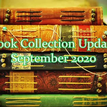Book Collection Update: September 2020