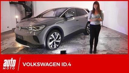 Volkswagen ID.4: toutes les infos et photos officielles