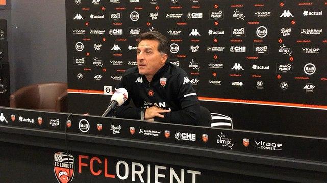 Christophe Pelissier sur les difficultés défensives du FC Lorient, avant de recevoir Lyon