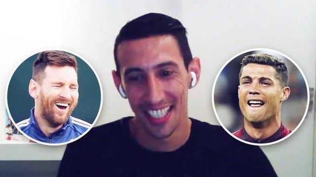 Di Maria révèle qui de Messi ou Ronaldo est le plus impressionnant dans les douches
