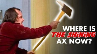 We Found Jack Nicholson's Ax From 'The Shining'