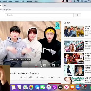 REACTION | ENHYPEN'S SECOND VLIVE LIVESTREAM WITH JUNGWON, SUNOO, JAKE & SUNGHOON